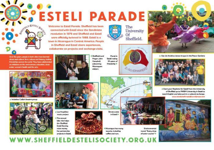 Esteli Parade board